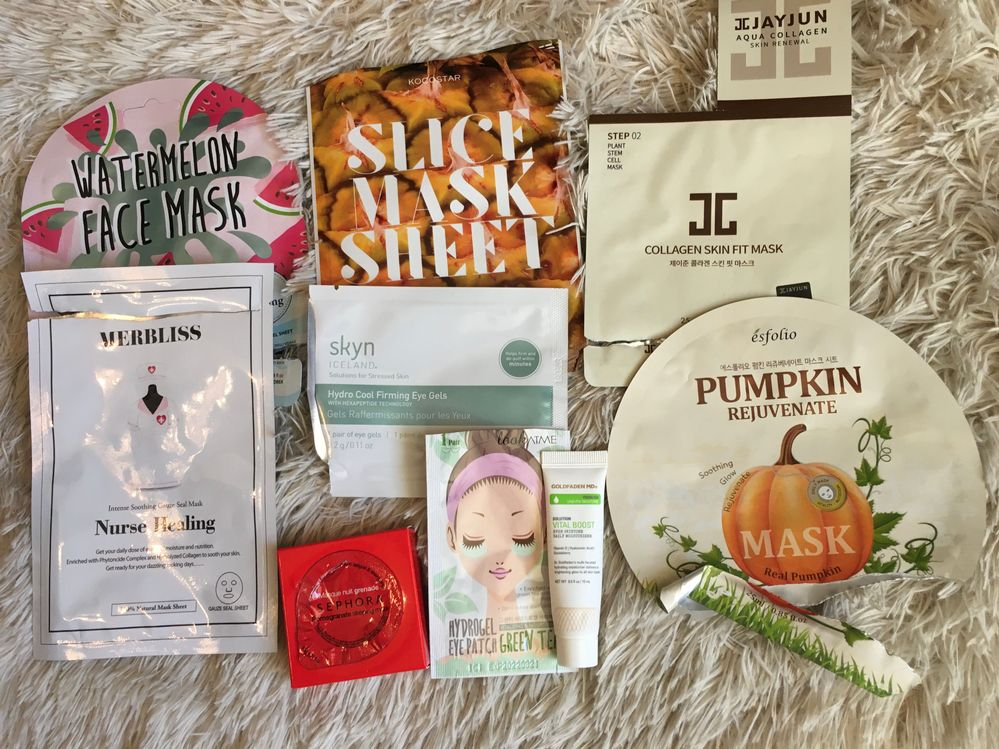September-enjoyed all these products