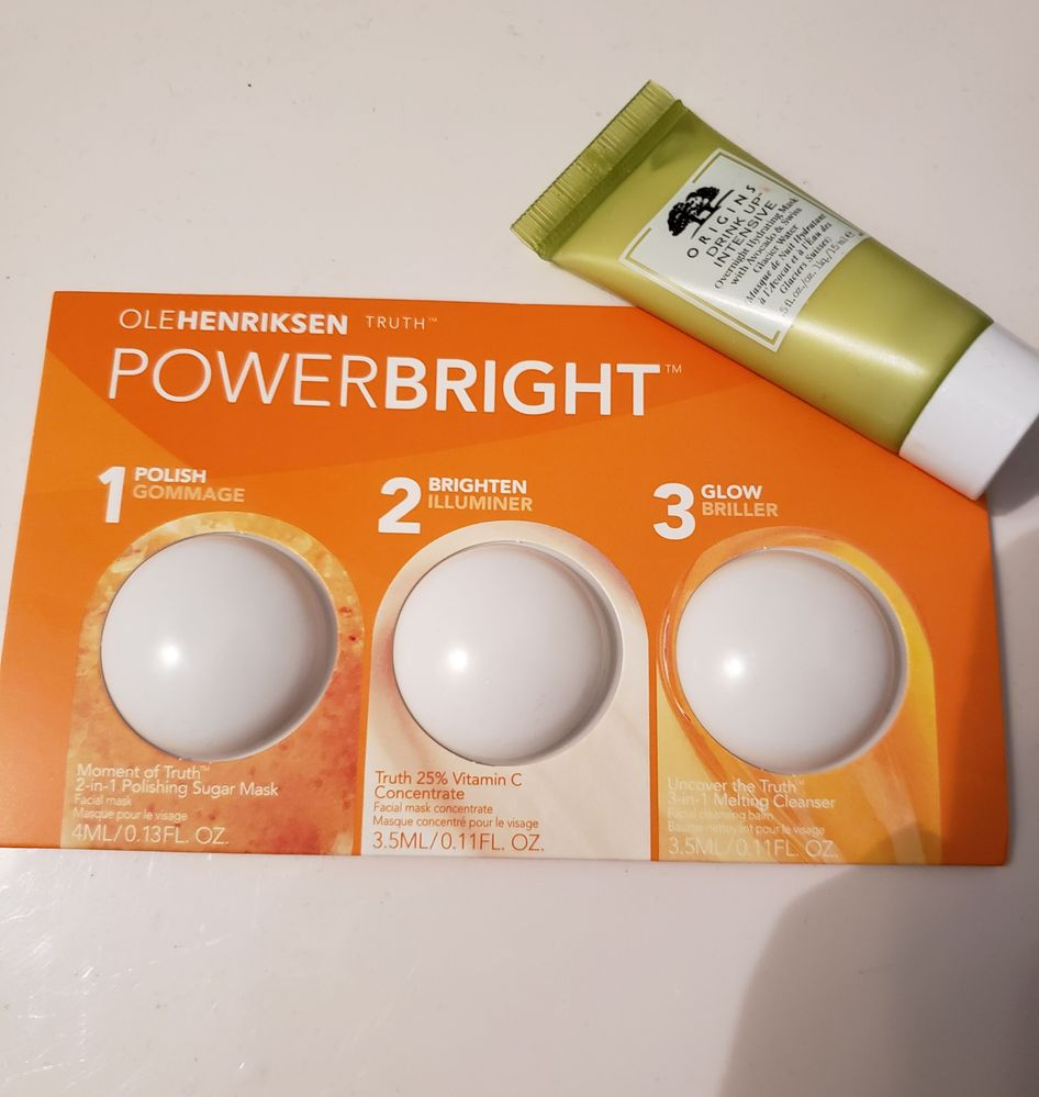 Powerbright and soothe