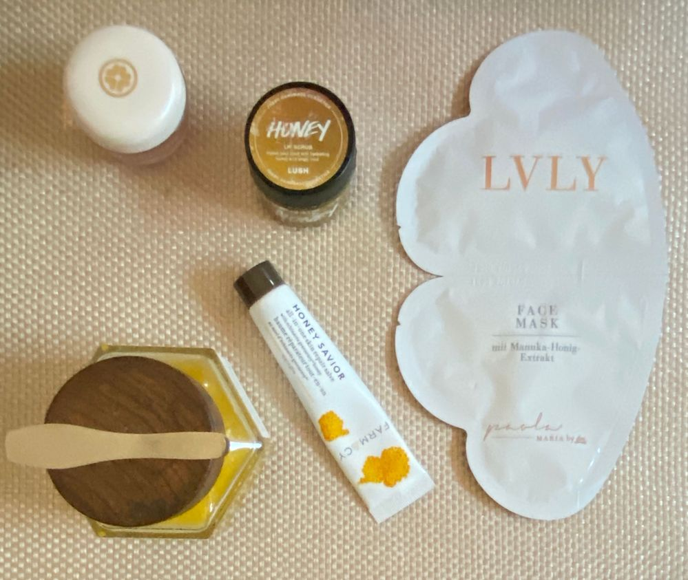 Tatcha, Lush, Lvly & Farmacy