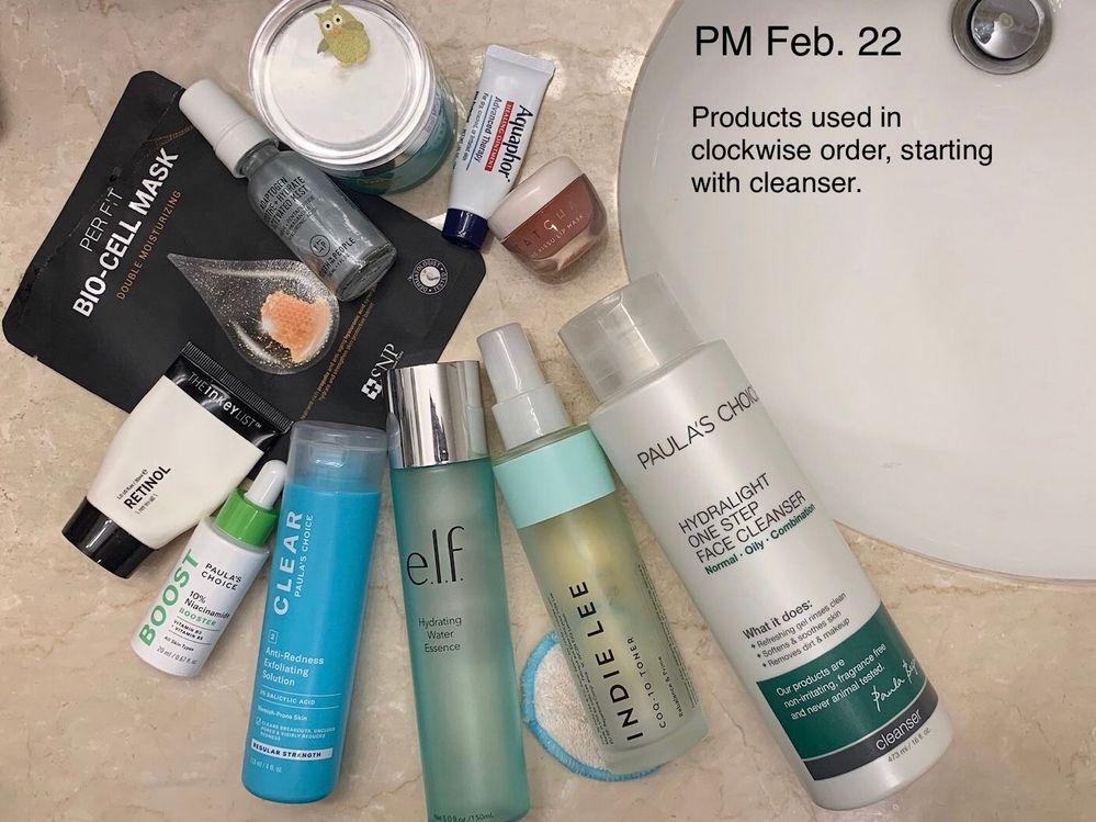 PM Feb. 22: the return of Indie Lee CoQ-10 toner plus a huge dose of moisturization.