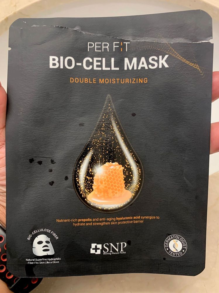 SNP Per Fit Bio-Cell Double Moisturizing Mask