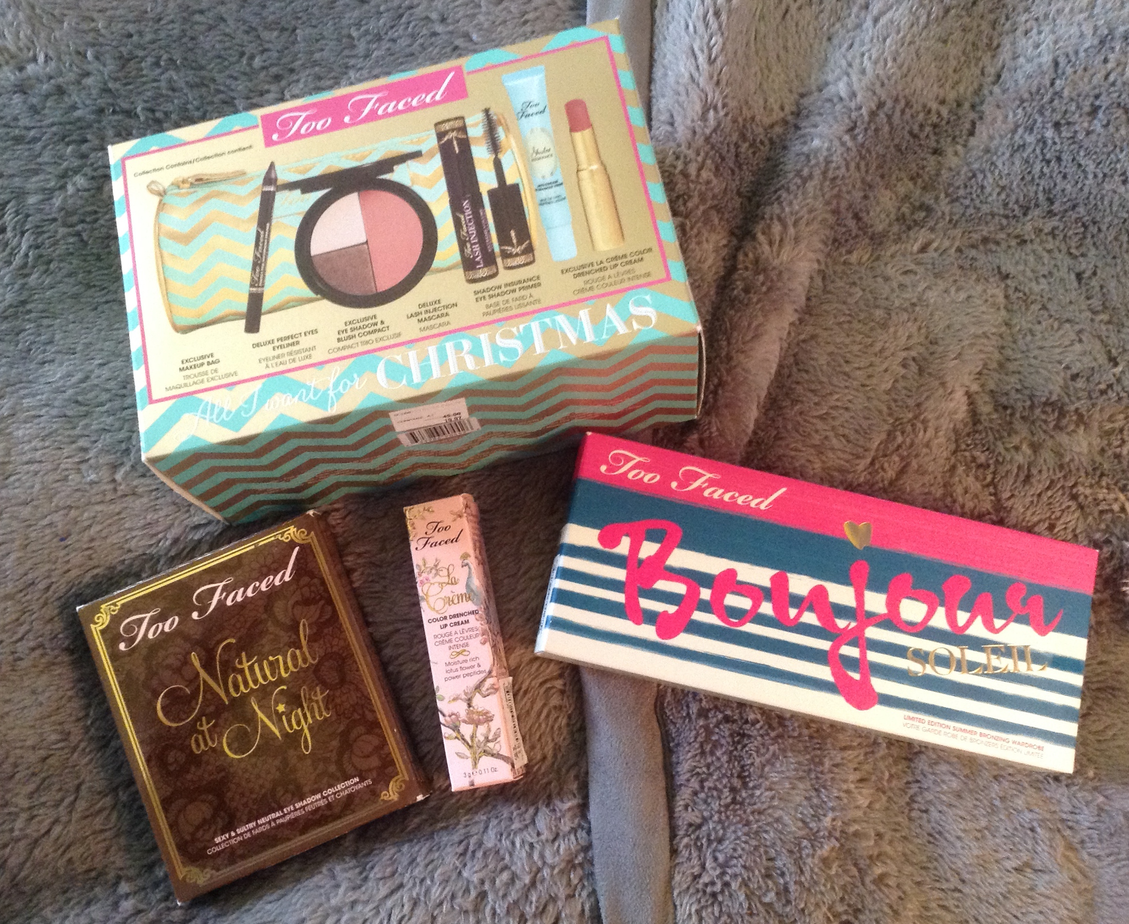 Everything That I Got At Nordstrom Rack Yesterday Were Too Faced Products And Let Me Tell You The Deals Great These Are Decided To