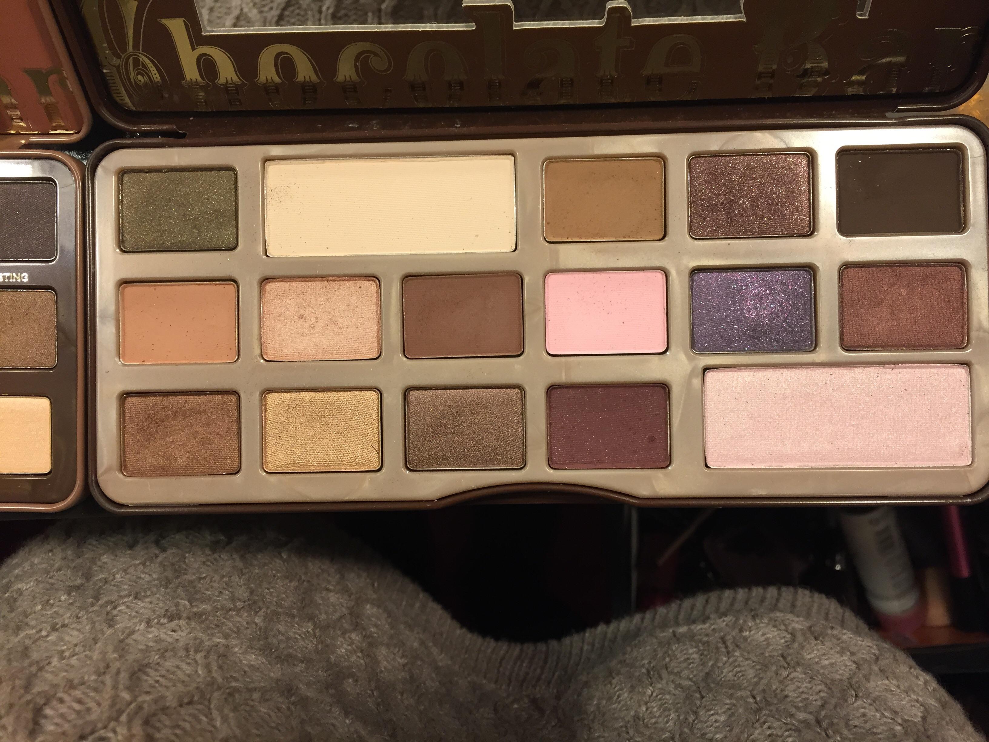 Too Faced Semi Sweet Chocolate Bar Palet Beauty Insider