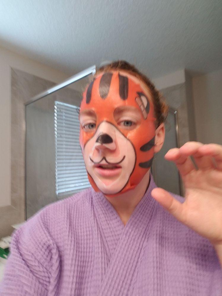 I'm a tiger!