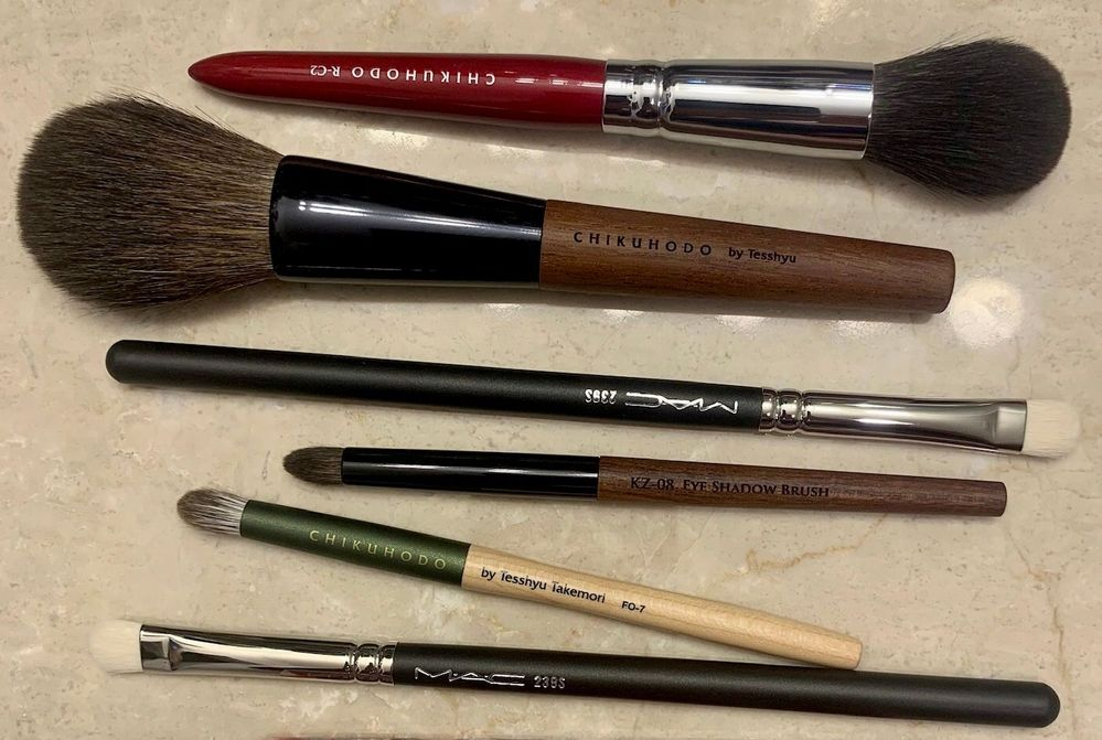 Brushes from Visage USA and Ulta