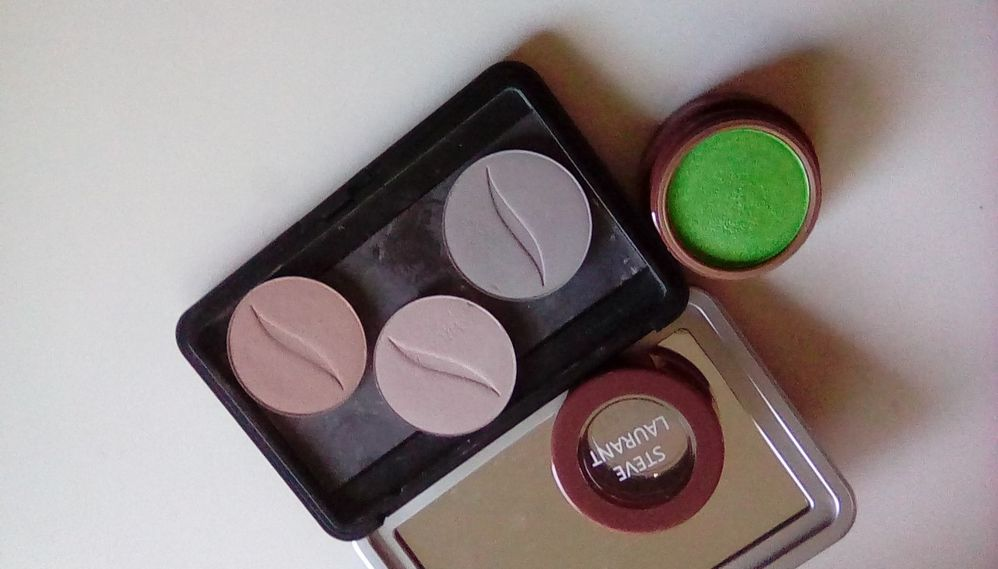 Steve Laurent Green from above, and Sephora singles used as well.