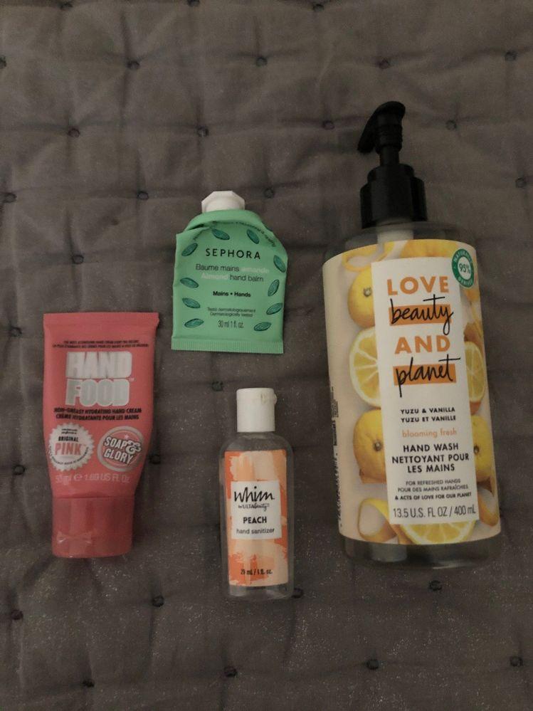 Hand Soap / Cream / Sanitizer Empties