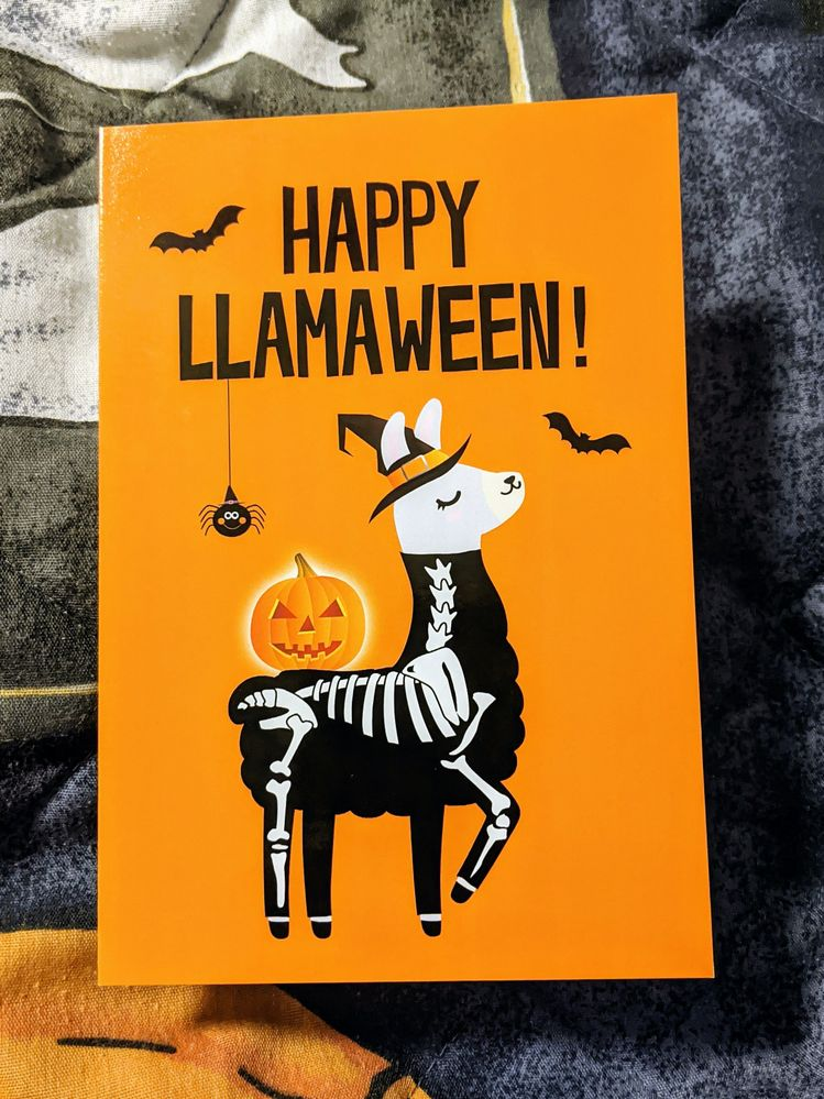 the perfect card for a BIC Halloween