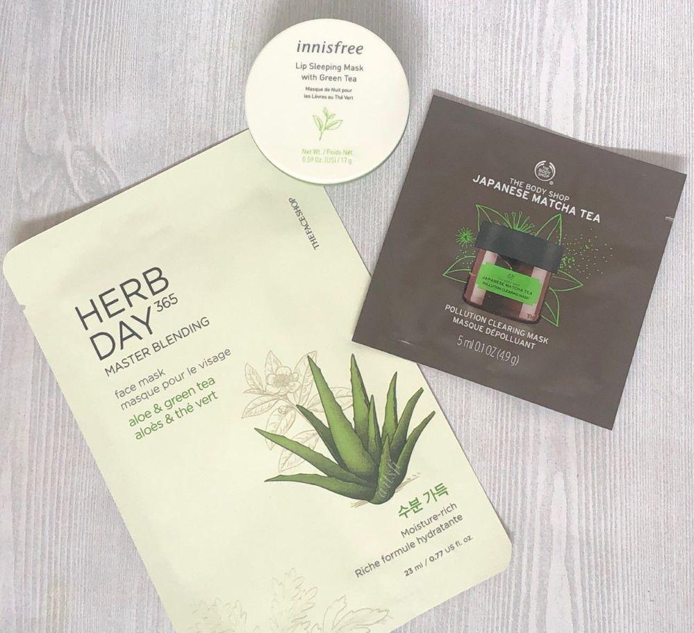 Green tea - face shop + body shop.jpg