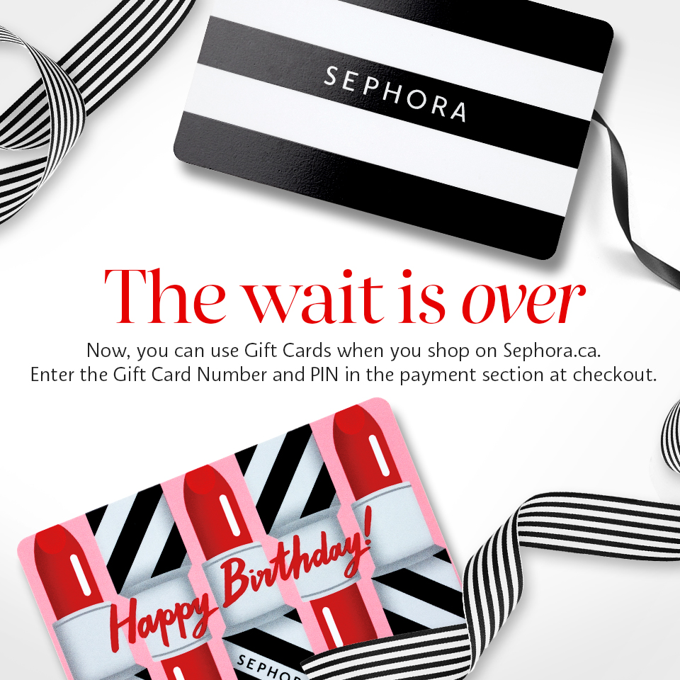 sephora gift cards where to buy canada