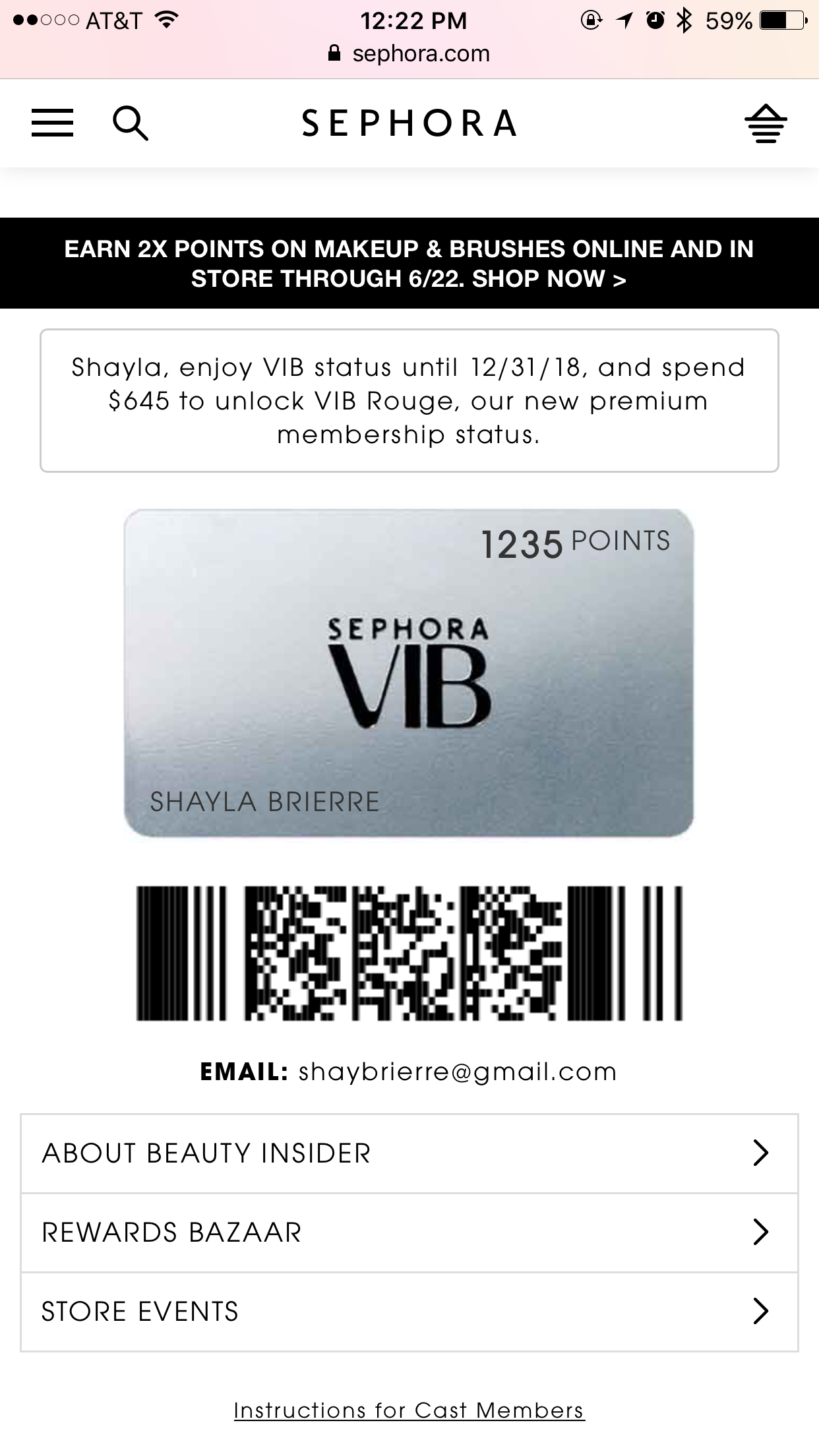 How To Use Sephora Beauty Insider Card Online August 2018 Coupons
