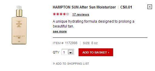 hampton Sun After Sun Moisturizer  C$0.01 quick view.JPG