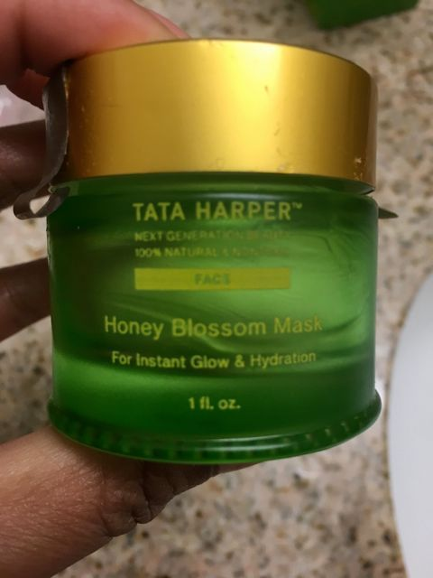 I would definitely repurchase- Tata Harper Honey Blossom Mask