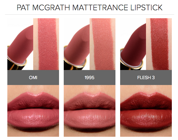 Image result for Pat McGrath MatteTrance Lipstick Flesh 3