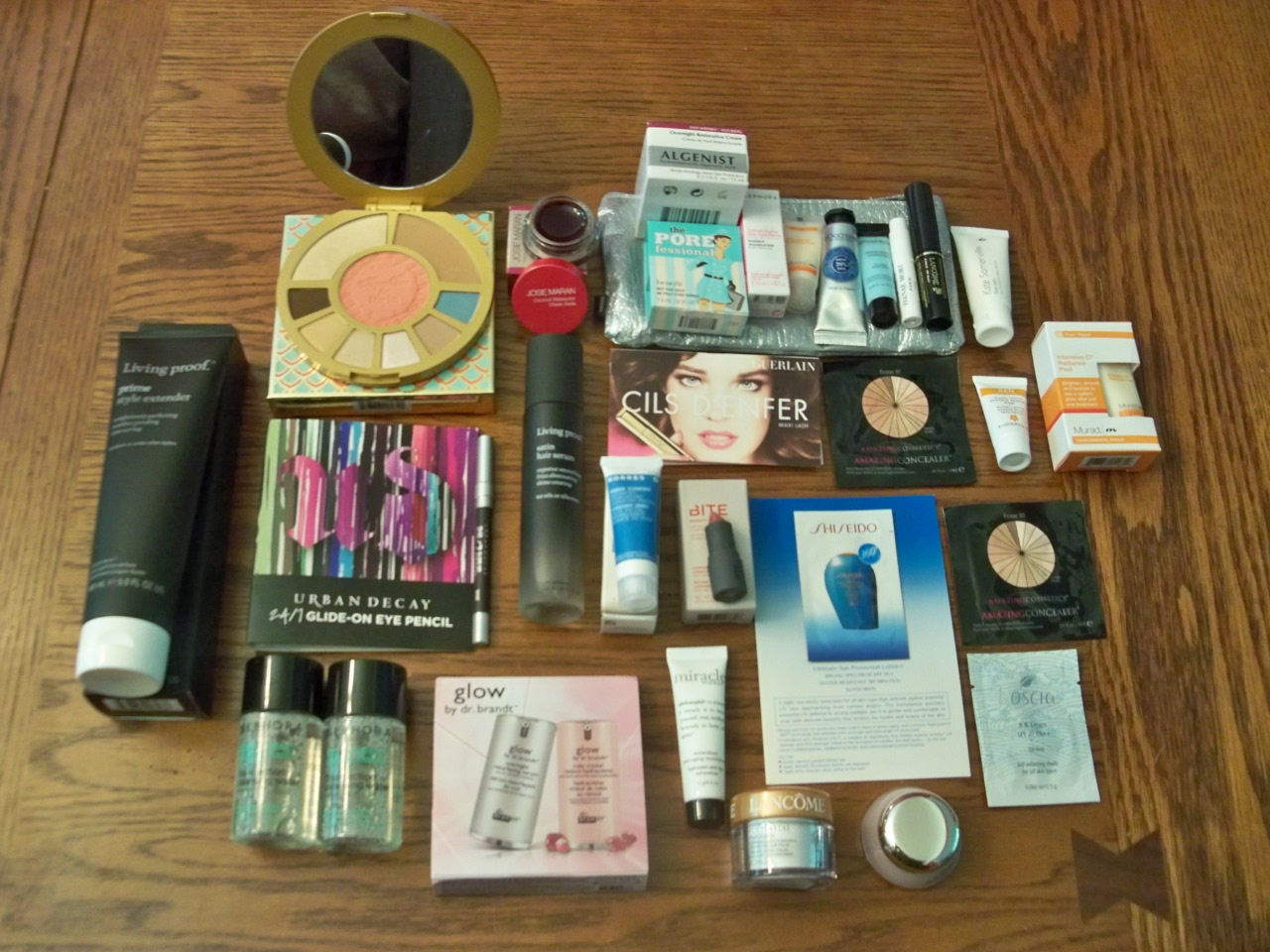 sephora sample haul.JPG