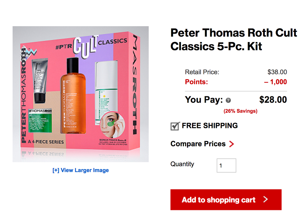 This is a newly added product on Sephora. It lists for $44.