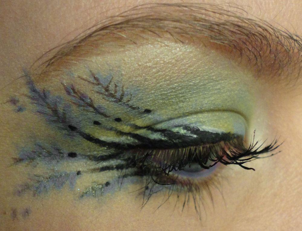 peacock look