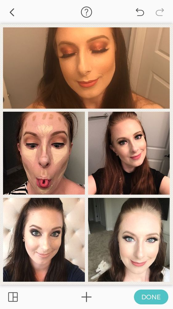 You'll begin to build your confidence and start branching out into more bold looks. You can do it! Check out my progress on different looks below. Have fun!