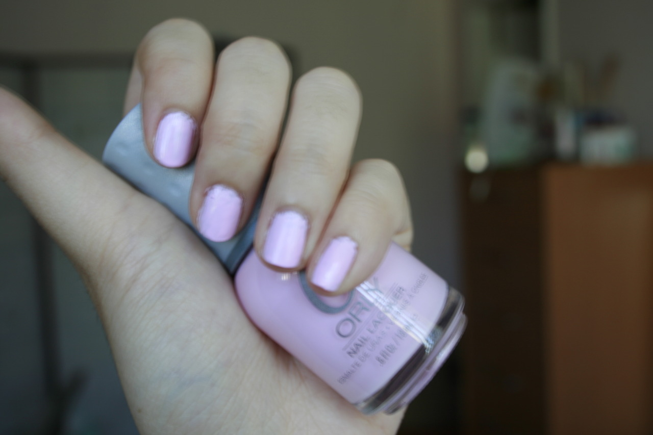 Opaque pastel pink/lavender nail polish ... - Beauty Insider Community