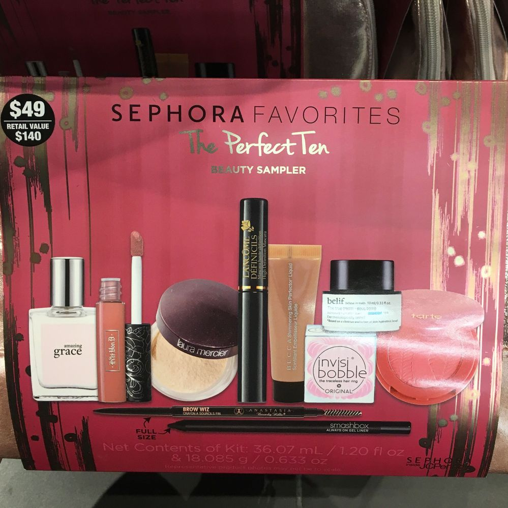 The Perfect 10 Sephora Inside JCPenney