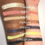 Top row of Prism Palette shades