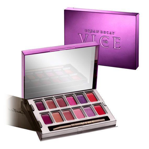 Vice Metal Meets Matte Lipstick Palette