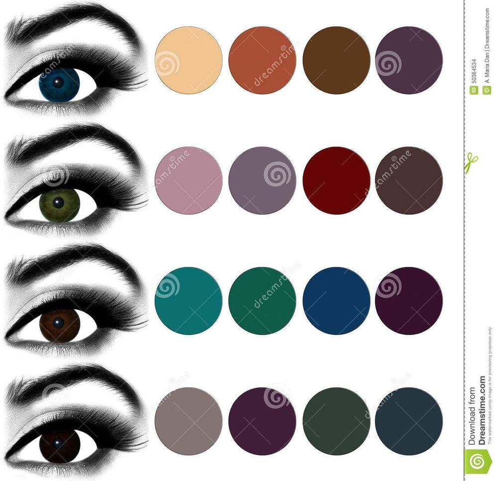 What Color Matches With Brown: Eye Palette For Blue Eyes