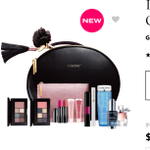 Lancome holidaybeauty box -avaliable at many department stores and Lancome direct.