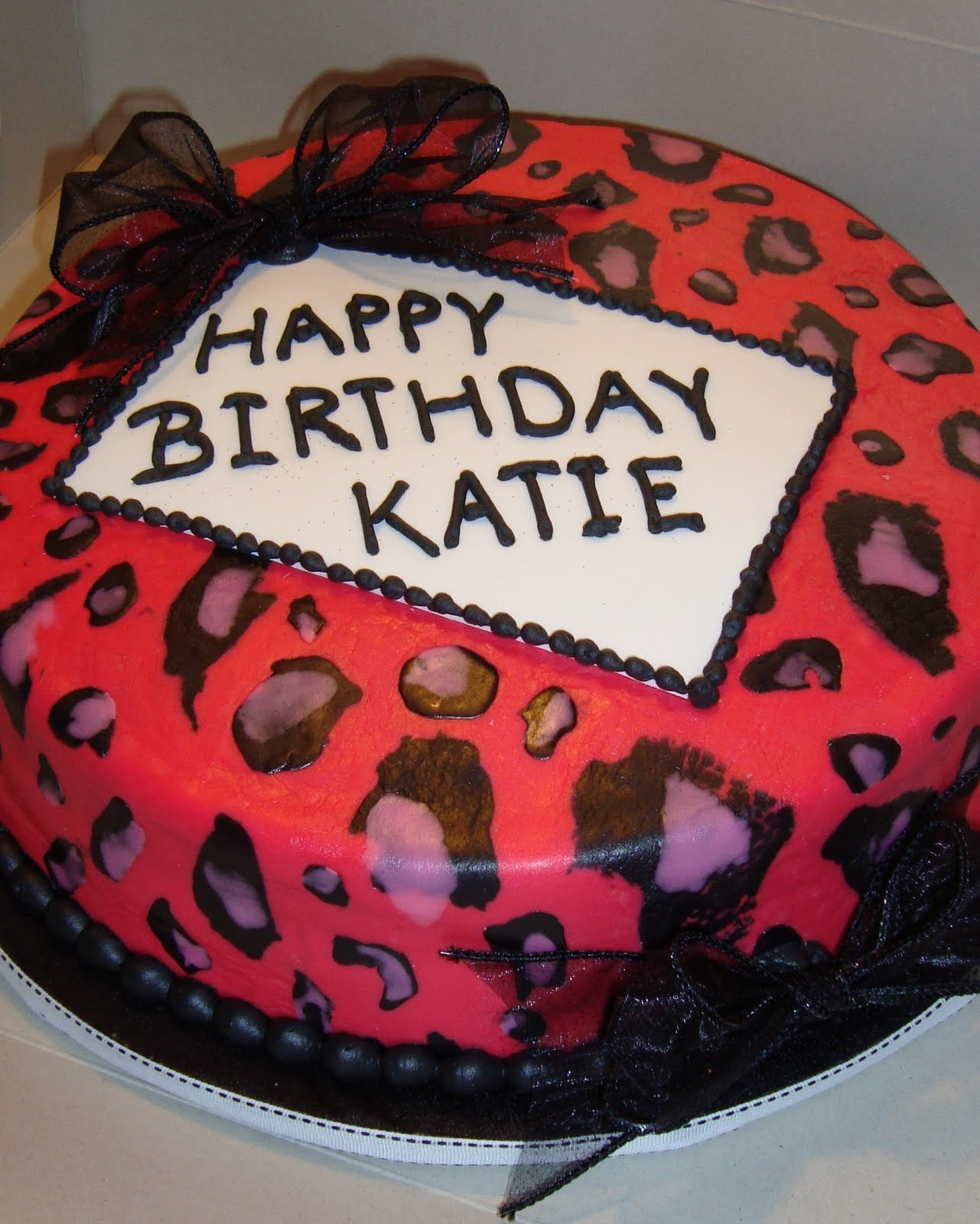 Happy Birthday Katie Cake Atletischsport