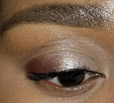 Look 1 using Gold Coast, Sea Glass, & Sailor's Delight