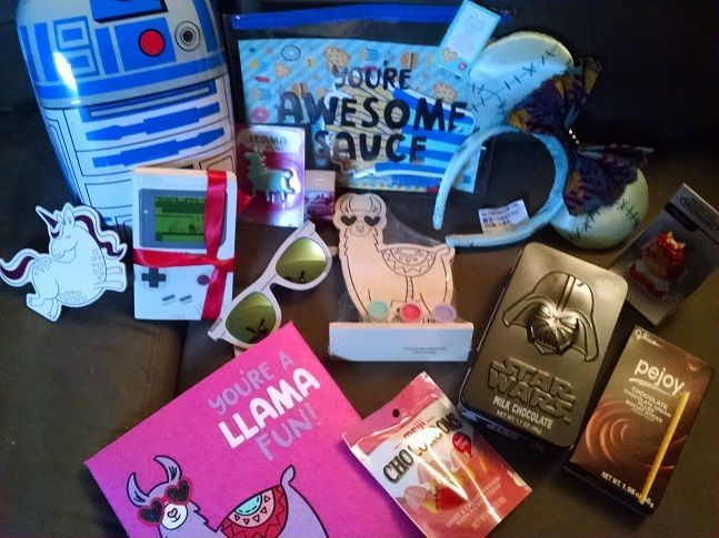 Unicorns,Star Wars, Nintendo, and Llamas - what more could a gal ask for? Thank you ZMA <3