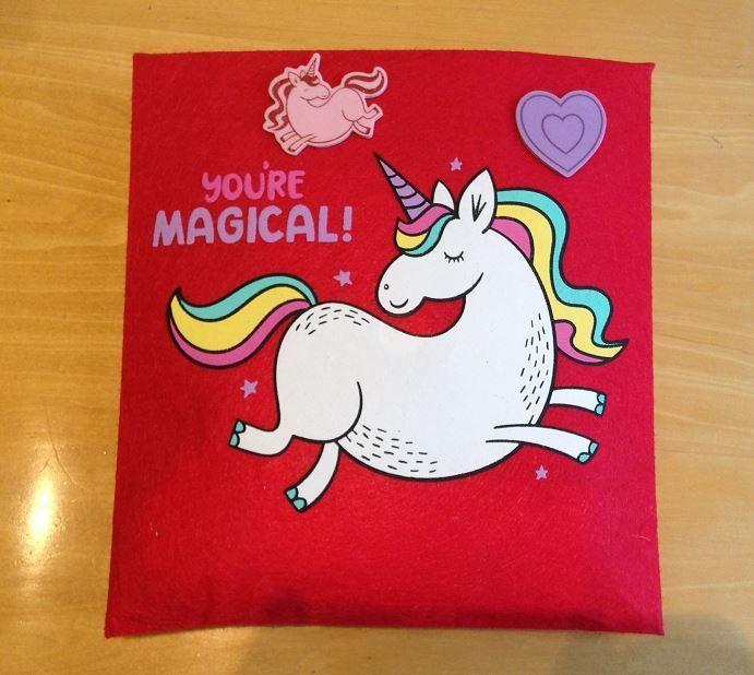 Magical felt pouch!
