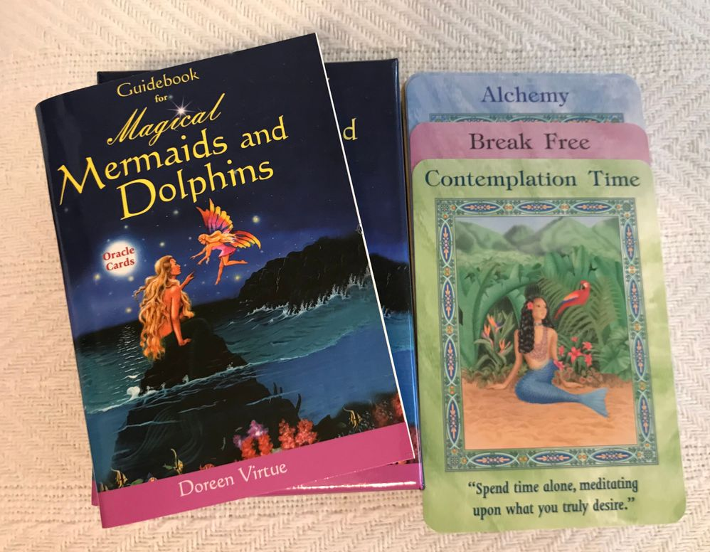 Mermaid and Dolphin Oracle Cards